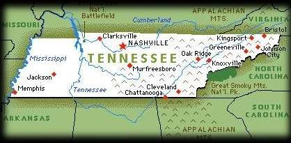 TENNESSEE TOUR PAGE ONE